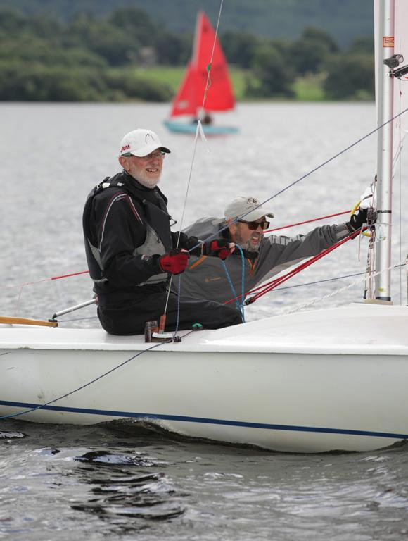 The One Bassenthwaite Lake Sailing Week during weekday racing photo copyright John Spittle taken at Bassenthwaite Sailing Club and featuring the Flying Fifteen class