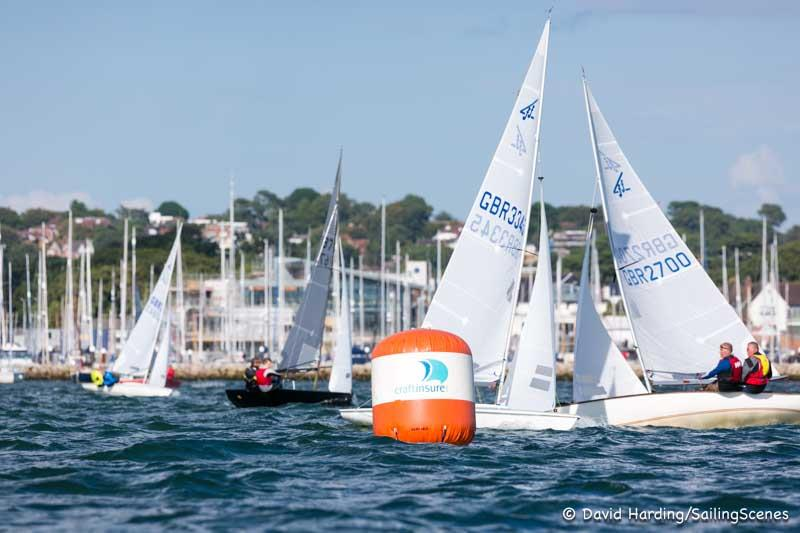 adidas Poole Week 2017 day 5 photo copyright David Harding / www.sailingscenes.com taken at Parkstone Yacht Club and featuring the Flying Fifteen class