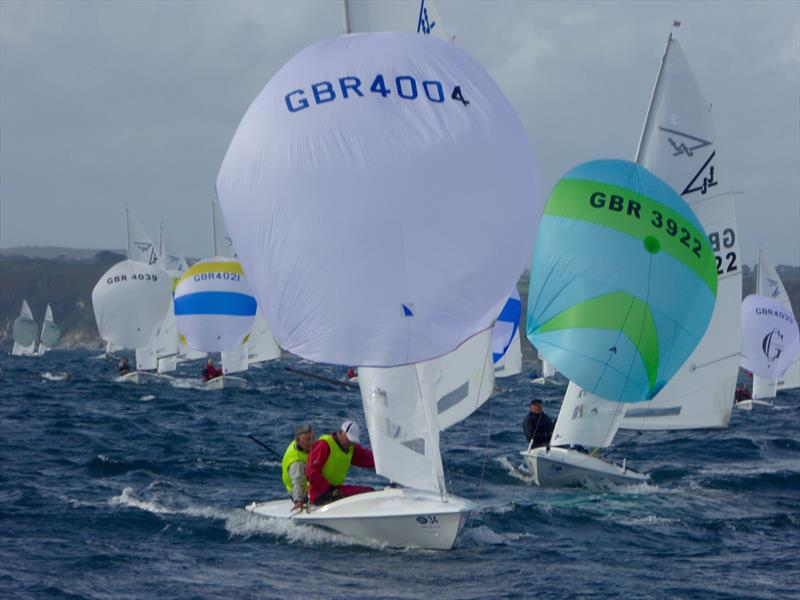 CARRS Land Rover Flying Fifteen UK Nationals at Falmouth day 3 - photo © Jonny Fullerton / FFI