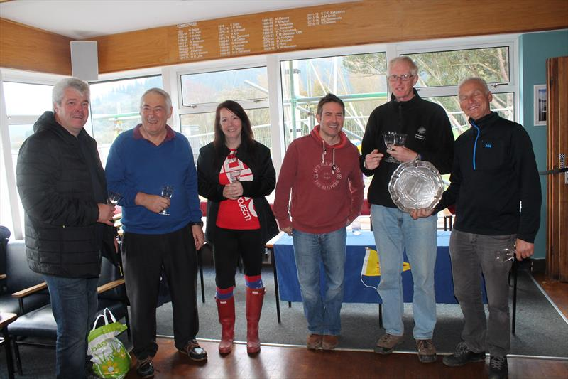 Prize Giving in the Flying Fifteen Team Racing at Bassenthwaite - photo © William Carruthers