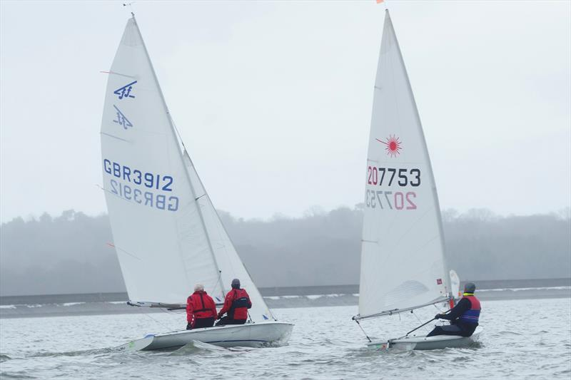 Bewl Blaster 2018 photo copyright Richard Janulewicz / www.sharkbait.org.uk taken at Bewl Sailing Association and featuring the Flying Fifteen class