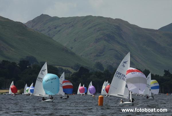 Flying Fifteen Worlds Qualifier at Ullswater