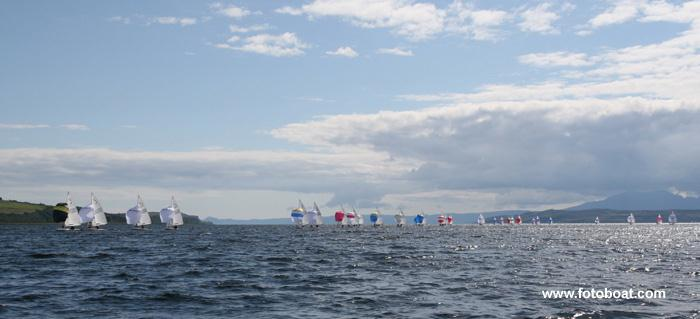 Allen Flying Fifteen nationals at Largs