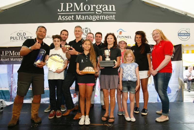 J.P. Morgan Asset Management Round the Island Race 2014 Prizegiving