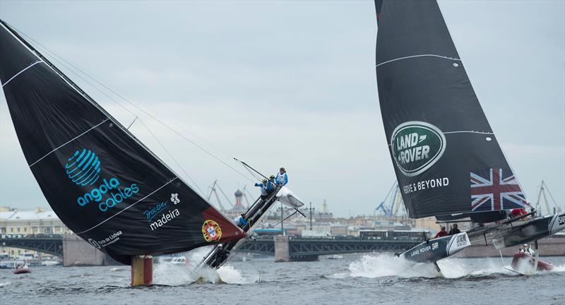 Sail Portugal - Visit Madeira and Land Rover BAR Academy on day 1 of  Extreme Sailing Series™ Act 5, St Petersburg - photo © Lloyd Images