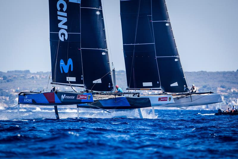 Tight competition in the GC32 Racing Tour at the 36th Copa del Rey MAPFRE - photo © Jesus Renedo / GC32 Racing Tour