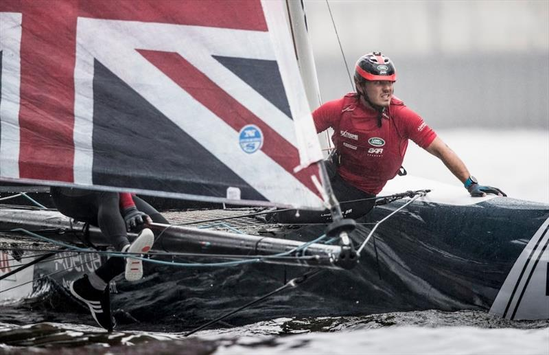 Day 2 of Extreme Sailing Series Act 5 Hamburg - photo © Lloyd Images