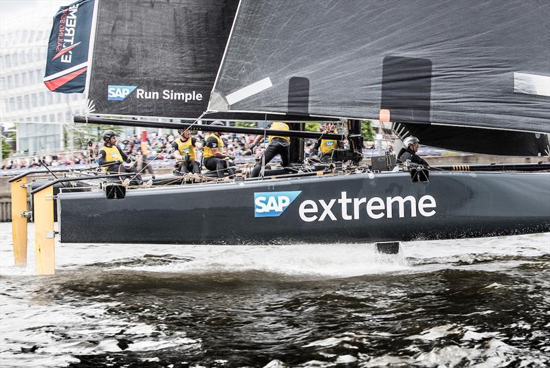Extreme Sailing Series Act 5 Hamburg day 4 - photo © Lloyd Images
