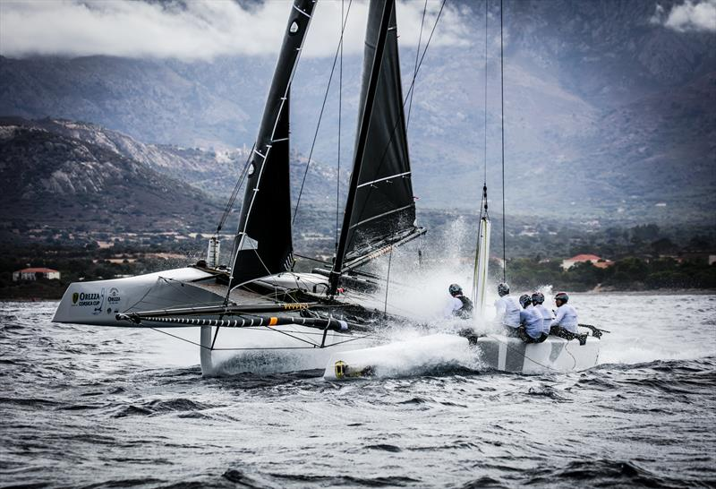 Jason Carroll's Argo, winner of the ANONIMO Speed Challenge at the GC32 Racing Tour Orezza Corsica Cup - photo © Jesus Renedo / GC32 Racing Tour