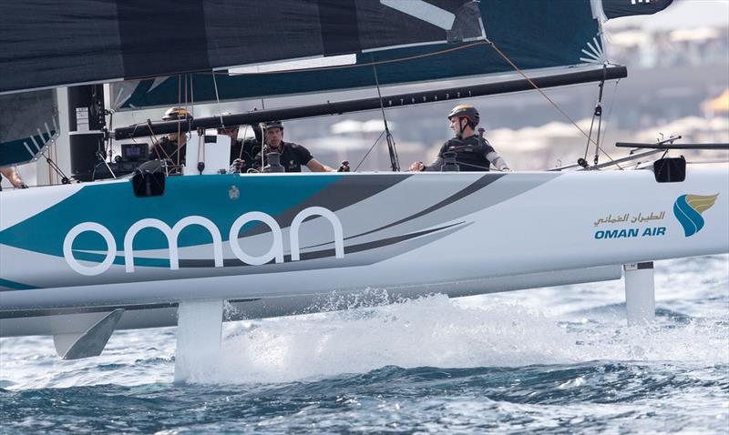 Oman Air took five podium finishes on the second day of racing in the brand-new Stadium Racing venue in Los Cabos, Mexico. - photo © Lloyd Images