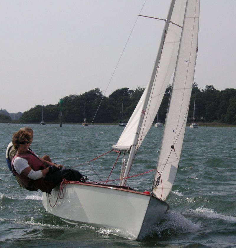 Gp14 open at chichester yacht club for Poor richard s fishing report