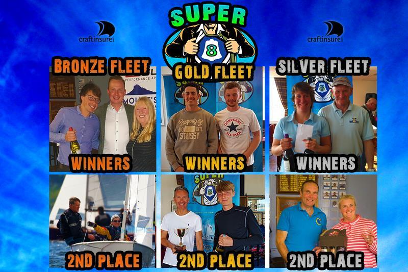 GP14 Super 8 Prize Winners - photo © Michelle Evans