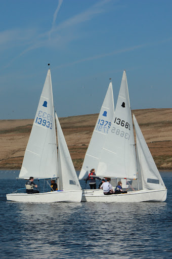 Sailing starts in Bolton Sailing Club Diamond Jubilee year photo copyright Dennis Shevelan taken at Bolton Sailing Club and featuring the GP14 class