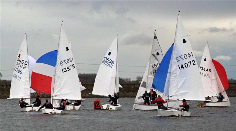 A long day for the GP14s at Staunton Harold photo copyright Howard Rutter taken at Staunton Harold Sailing Club and featuring the GP14 class
