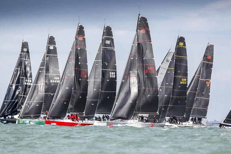 Fast 40+ class racing in the 2016 One Ton Cup - photo © Paul Wyeth / www.pwpictures.com