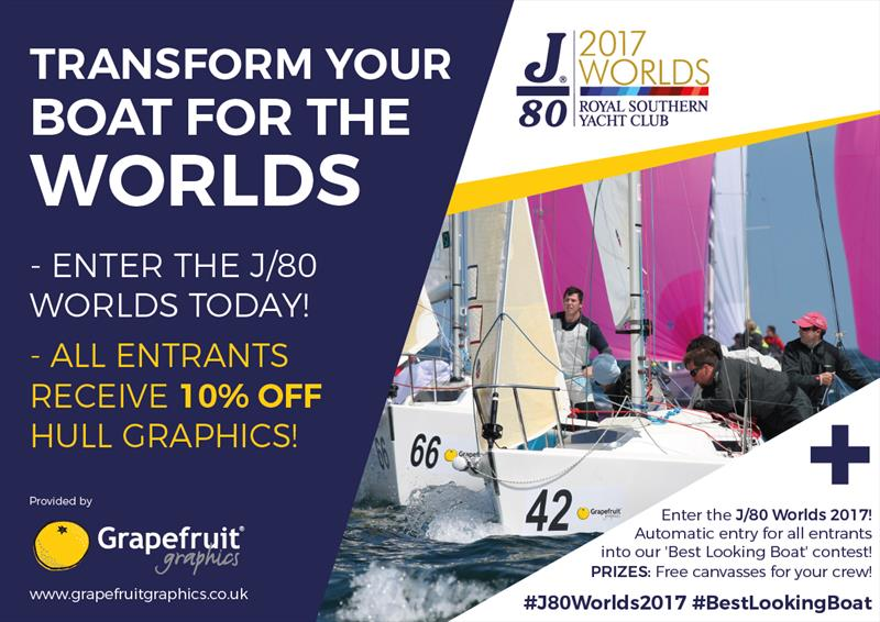 Transform your boat for the J/80 Worlds - photo © Grapefruit Graphics