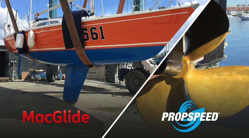 MacGlide and Propspeed - photo © Grapefruit