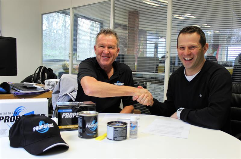 Oceanmax name Grapefruit as sole UK Propspeed Distributor - photo © Grapefruit
