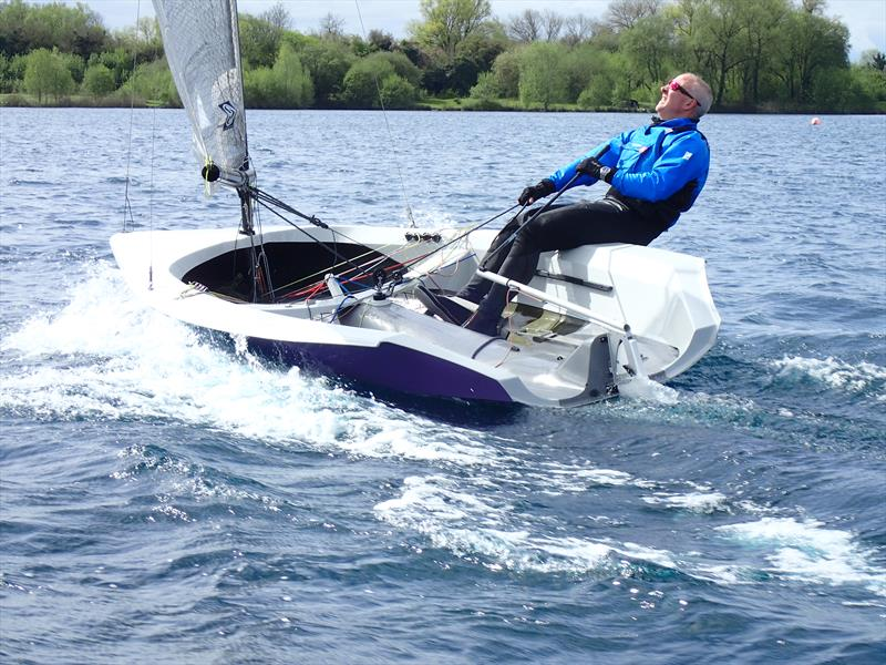Another new dinghy, the H2. How do you assign a fair number to a new boat, one without any obvious comparisons? In the past new boats have been granted favourable PYs, others treated more harshly photo copyright Keith Callaghan taken at  and featuring the Hadron H2 class