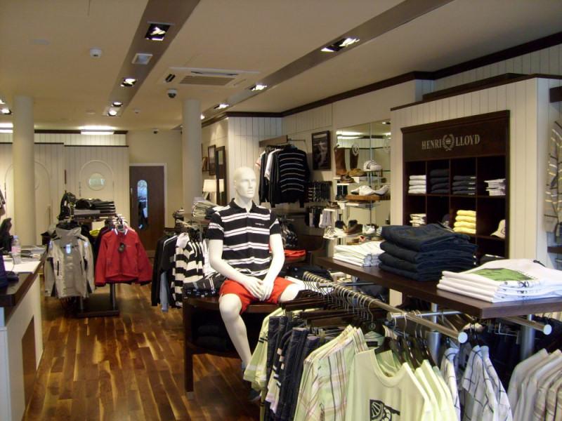 Sailing clothing store