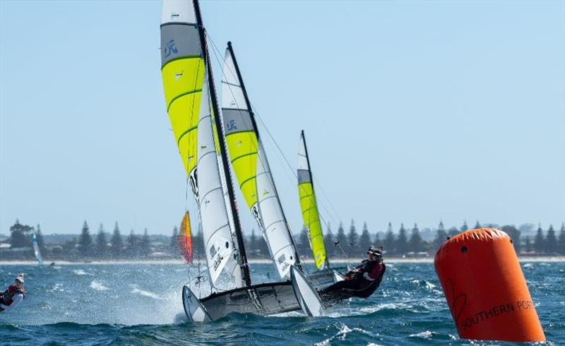 Rod and Lucy - 2021 WA Hobie Cat State Championships - photo © Drew Malcolm