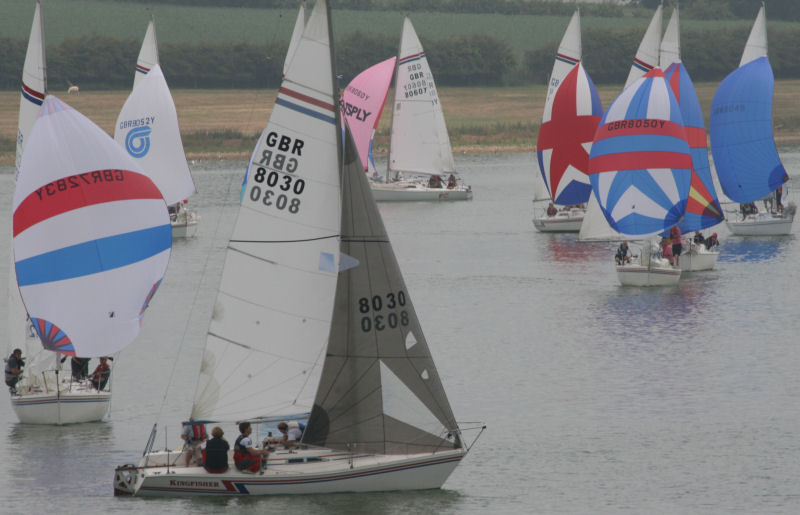 Hunter Formula One Nationals at Rutland Sailing Club