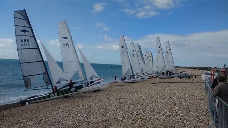 30th Hurricane 5.9 Nationals at Pagham photo copyright Paul McKay taken at Pagham Yacht Club and featuring the Hurricane 5.9 SX class
