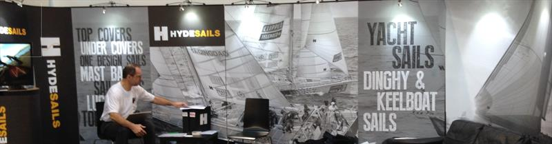 Hyde Sails at stand at boot Düsseldorf - photo © Hyde Sails