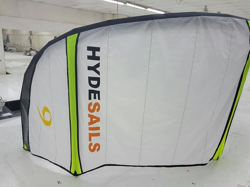 Hyde Sails kitesurfing kite - photo © Hyde Sails