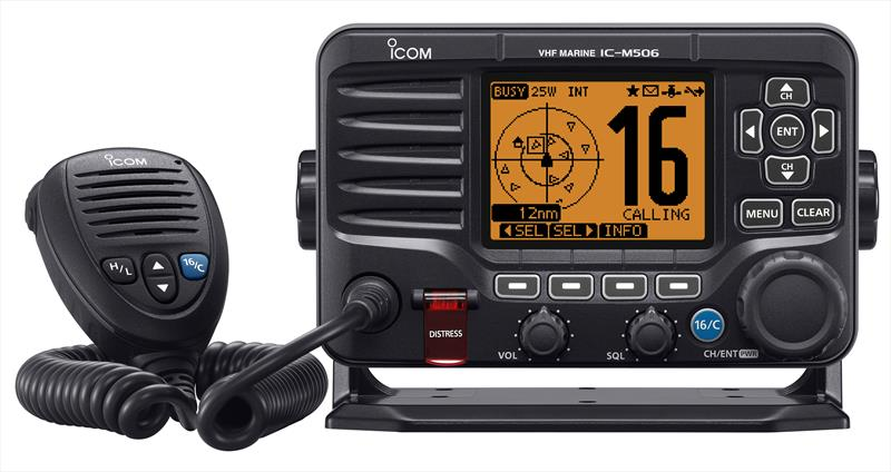 Icom IC-M506 VHF/DSC marine transceiver