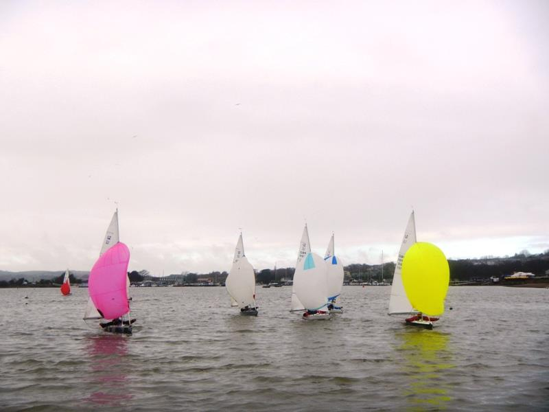 Bembridge Illusion New Year's Day Race - photo © Mike Samuelson