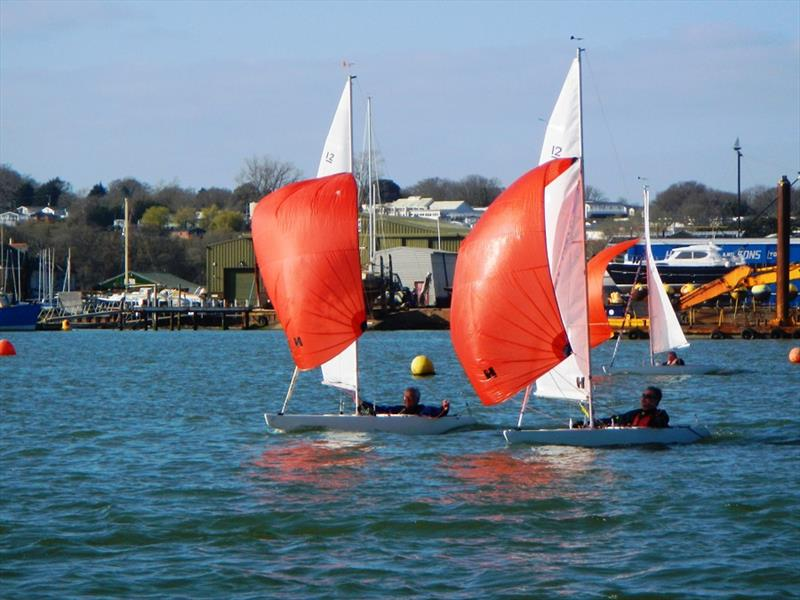 Bembridge Illusion Easter Egg Cup 2021 - photo © Mike Samuelson
