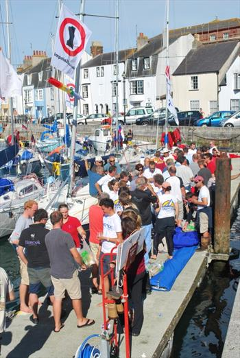 Impala nationals held during the Weymouth Keelboat Regatta