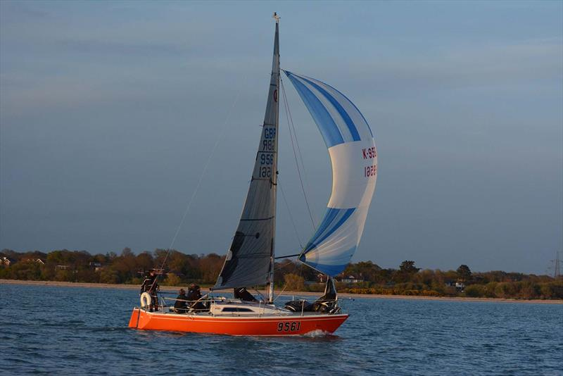 Uproar on day 3 of the Hamble River Early Bird Series  - photo © Trevor Pountain