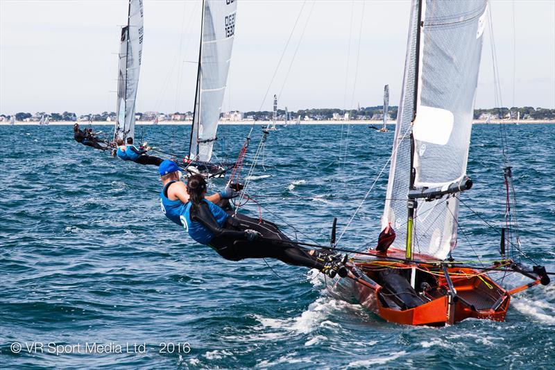 VRsport.tv International 14 Worlds at Carnac day 6 - photo © VR Sport Media