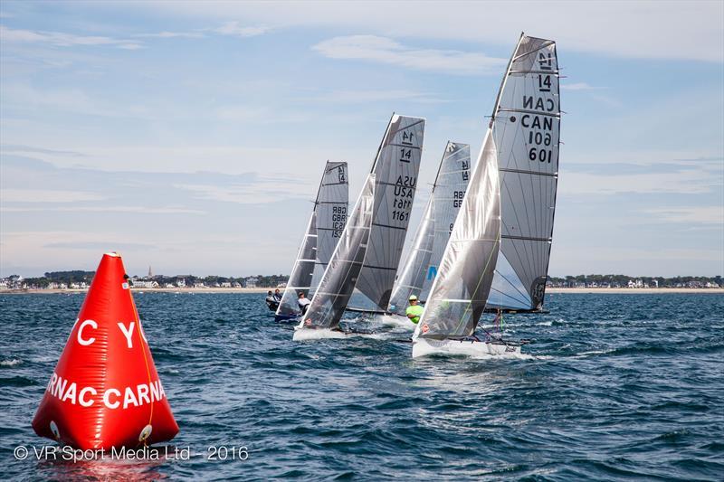 VRsport.tv International 14 Worlds at Carnac day 7 - photo © VR Sport Media