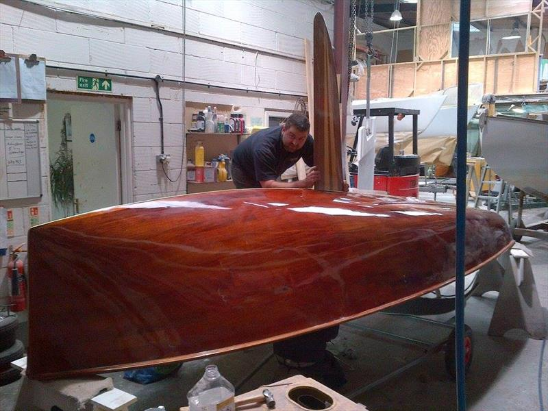 The After: Another 14 that has been the subject of first class professional restoration. It is not just the cost of such a project, for getting an old boat back to true Concours condition takes a considerable commitment from boat-builder and owner alike - photo © Chris Somner / V. Weedon-Jones