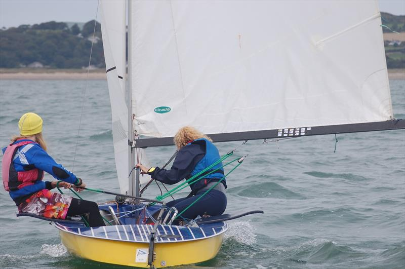 Until the age of 19, Taifun sailors in Germany compete two up. They look to have an exciting and plentiful supply of talent for the future - photo © David Henshall