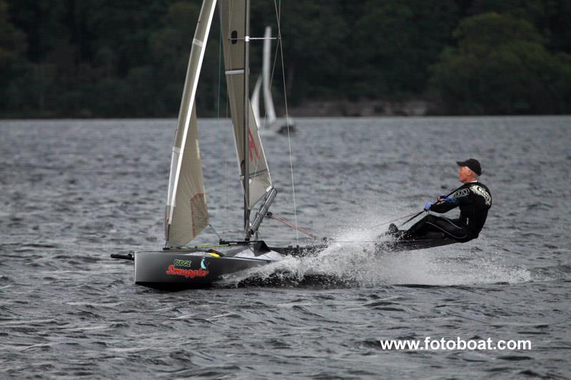 Robin Wood, Assymetric Canoe champion - photo © Alan Henderson / www.fotoboat.com