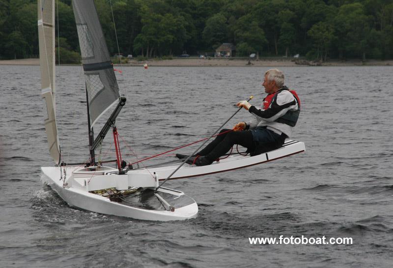 Colin Brown, International Canoe champion - photo © Alan Henderson / www.fotoboat.com