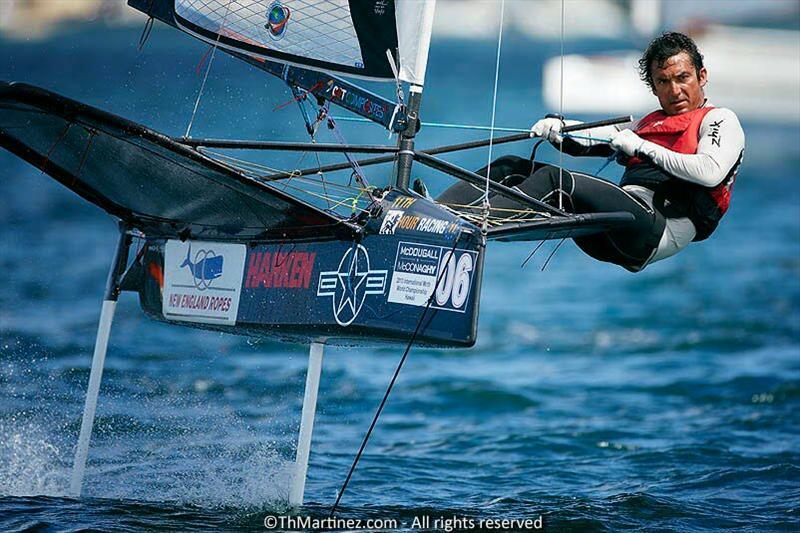 Former World Champion, Bora Gulari, demonstrates his winning style - photo © Th.Martinez / Sea&Co. / www.thmartinez.com
