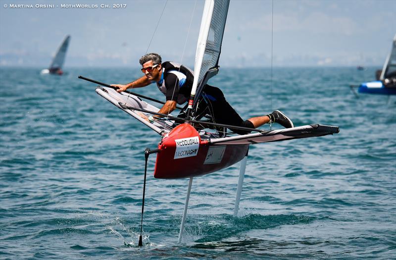 Francisco Bianchi warms up for the Worlds on Lake Garda - photo © Martina Orsini