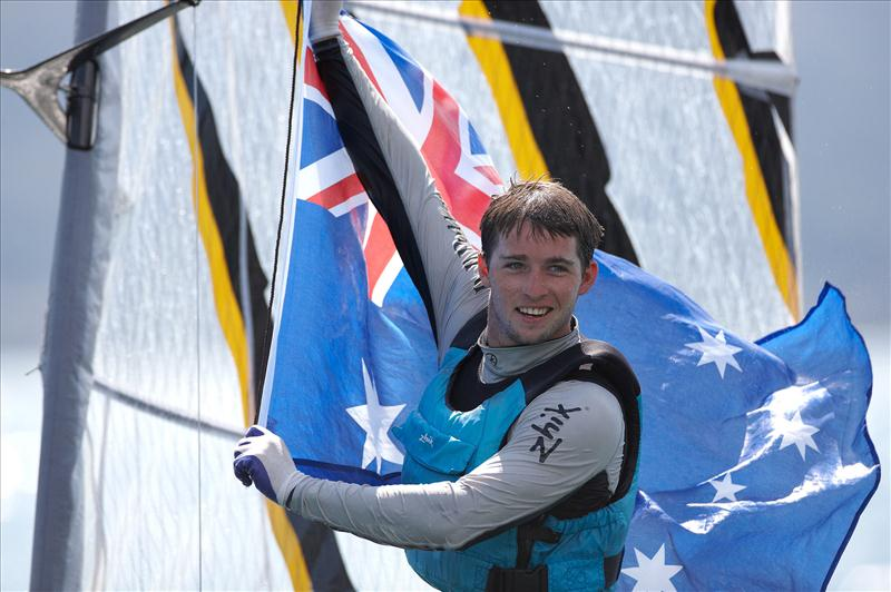 Joshua McKnight wins the 2012 Zhik Nautica Moth Worlds - photo © Th.Martinez / Sea&Co / www.thmartinez.com