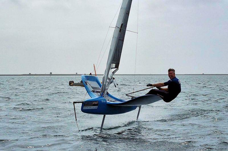 Stuart Bithell makes a clean sweep at the International Moth GP at the WPNSA - photo © Dylan Fletcher