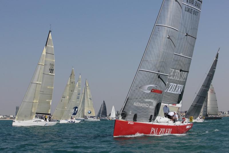 Pal zileri carrera sailing cup at dubai round 1 for The sail dubai
