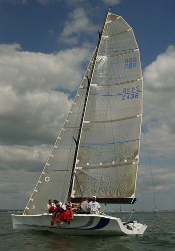 The new 36' yacht 'Full Pelt X' with the highest ever IRC rating of 1.704
