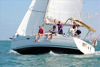 Dubai to muscat race at dubai offshore sailing club start for The sail dubai