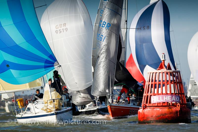 35th Hamble Winter Series day  - photo © Paul Wyeth / www.pwpictures.com