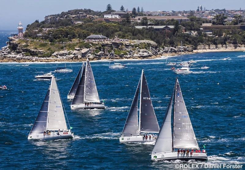 Rolex Sydney Hobart Yacht Race start - photo © Rolex / Daniel Forster