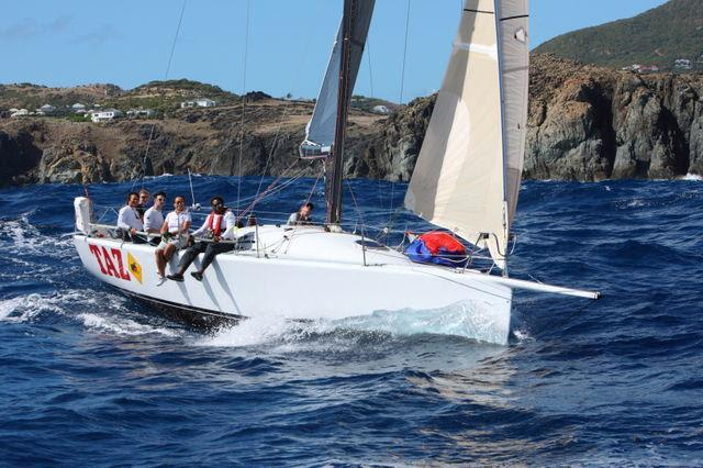 This will be Bernie Evan-Wong's 9th race as skipper on Antiguan entry, Taz - photo © RORC / Tim Wright